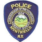 Monticello Police shoulder patch